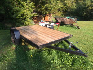 6x10 flat bed trailer