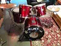 Mapex Venus series complete drumkit