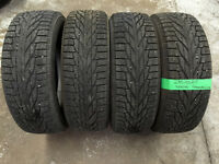 235/65R17 NOKIAN Winter Tires (80% tread)