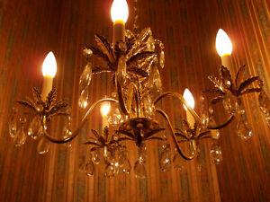 5 light chandelier Windsor Region Ontario image 1