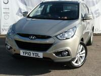 2010 HYUNDAI IX35 2.0 PREMIUM CRDI 2WD DIESEL LARGE ELECTRIC PANORAMIC ROOF REAR