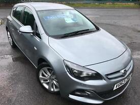 VAUXHALL ASTRA 1.7CDTi 130 TECHLINE GT £39 WEEK £20 TAX BLUETOOTH CRUISE 5DR 13