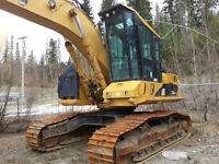 2007 325D CAT HIWALKER EXCAVATOR.,90% undercarriage.