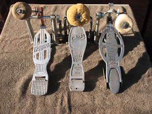Vintage Kick Pedals, Ludwig, Rogers