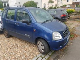 Suzuki wagon R+ 2005/55 auto years mot swap for ?