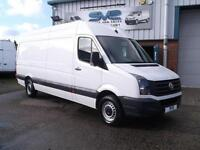 2014 14 VOLKSWAGEN CRAFTER CR35 LWB HIGH ROOF LIKE SPRINTER 60,000 MILES CHOICE