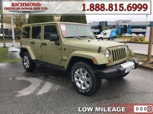 2013 Jeep Wrangler Unlimited Sahara  - Low Mileage