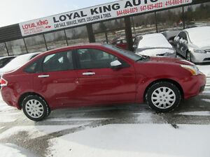 2009 Ford Focus CERTIFIED & ETSETED LOW MILEAGE 132km Sedan