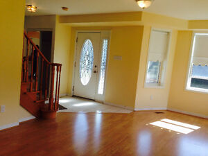 Detached Two Story house on 1.1 acre ravine lot for rent