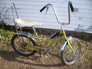 vintage banana seat/chopper/muscle bike/bicycle