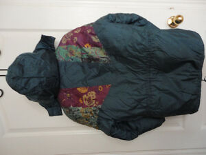 Girl's Nevada blue teal coloured jacket coat hood Size XL 14 London Ontario image 8
