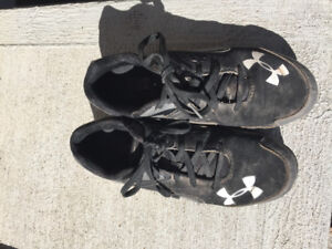 Youth Size 4 - Under Armour Cleats