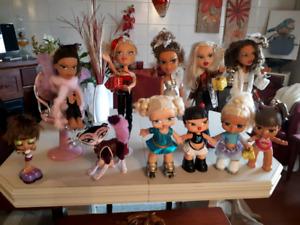 Collection de poupée bratz