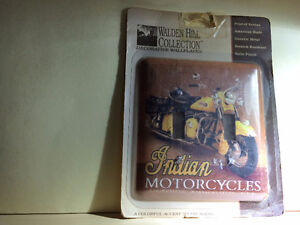 Indian Motorcycle  dual wall switch plate cover