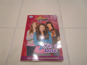 "Hannah Montana chapter book ""Win or Lose"""