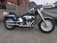 Harley-Davidson FLSTFI Fat Boy FatBoy 2004 Softail Low Mileage