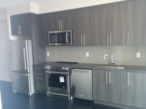 BRAND NEW & Huge 1+1 bed 1 bath with amazing views at square one