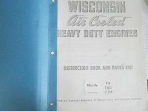 Wisconsin Engine Manual