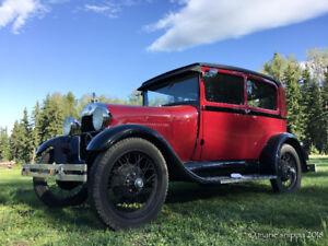 1929 Model A Ford 2-Door Car