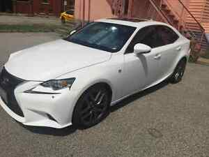 2014 WHITE LESUX IS250 F-SPORT FULLY LOADED