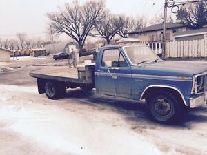 1980 ford flat deck dually