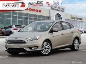 2017 Ford Focus Titanium  | HEATED SEATS | SUNROOF