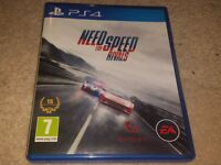 NEED FOR SPEED RIVALS PS4 GAME - MINT CONDITION