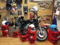 Casque de moto Style  Rétro Bobber ,Café Racer