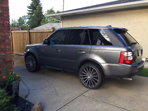2009 Land Rover Range Rover Sport Super Charged