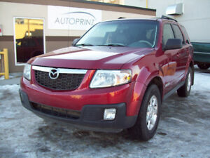 "2008 MAZDA TRIBUTE ""S"" V6 ALL WHEEL DRIVE with LEATHER!"