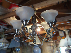 Lamps, end tables,fans,etc