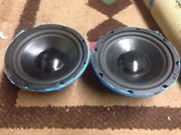 SUB WOOFER 2x 8 inch 50 watt 4 ohm
