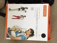 Stokke My Carrier Cool Black -never used with box