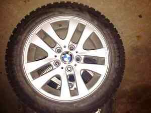 OEM BMW rims and winter tires