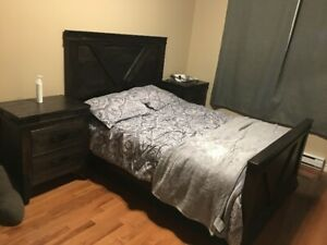 High Quality Bedroom set (hard wood)