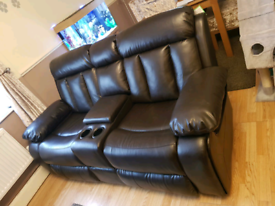 SOMMERTON AIR LEATHER RECLINER SOFAS
