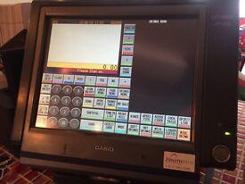 Casio QT6000 complete Epos system