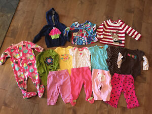 Baby girl clothing lot 6-9 months Cornwall Ontario image 1