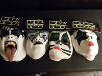 KISS Halloween Masks costume