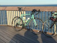 Reward £1000 for Bianchi sempre full carbon road race bike