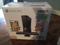 SPECIAL DEAL: XBOX 360 KINECT 250GB/GO + 10 GAMES + 2 CONTROLERS