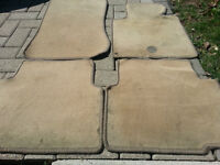 BMW E36 3 Series Tan Used Carpet Set (Four Carpets In Total)