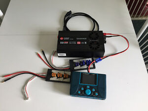 LiPo battery charger/power supply and balance boards