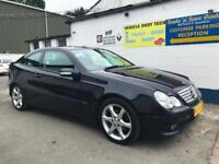 2007 Mercedes-Benz C200 Kompressor Auto Sport Edition - Metallic Black