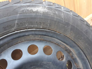 Snow Is Here! Winter Tires & Rims For Sale 215/60 R16 REDUCED!