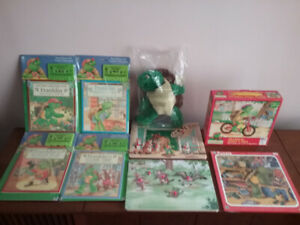 Franklin The Turtle- 9 Pc Variety Of Items - ALL NEVER OPENED