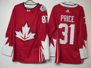 CANADA 2016 WORLD CUP OF HOCKEY JERSEYS PRICE ( MONTREAL )NWT /