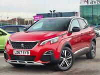 2017 Peugeot 3008 1.6 BlueHDi 120 GT Line 5dr EAT6 Auto Estate Diesel Automatic