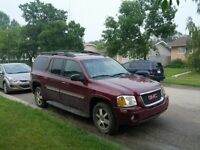 2004 GMC Envoy Black SUV, Crossover