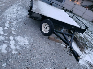 8×10 Flat Bed Trailer